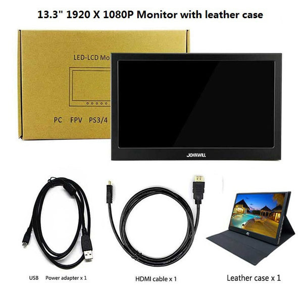13.3 inch 2560x1440 Portable PC Monitor for PS4 & Windows