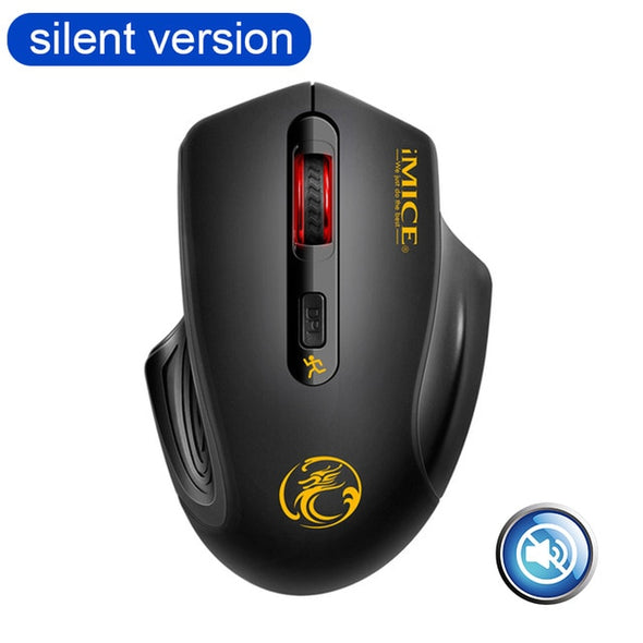 Wireless Optical Mouse 4 Buttons