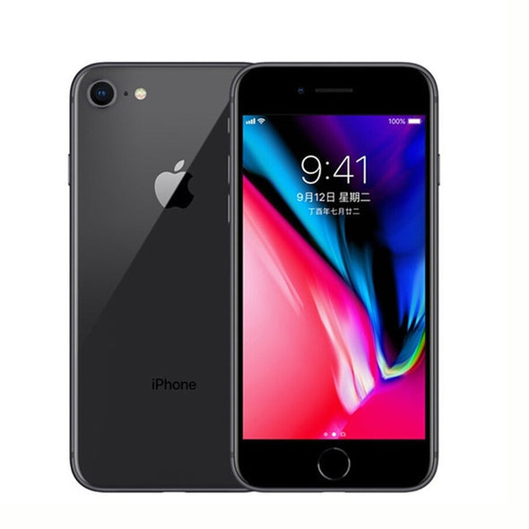 "Original Apple iPhone 8 2GB RAM 64GB/256GB Hexa-core IOS 3D Touch ID LTE 12.0MP Camera 4.7"" inch Apple Fingerprint 1821mAh"
