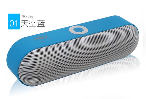 Portable Bluetooth Speaker with 3D Sound System