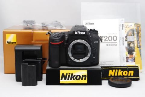 "Nikon D7200 DSLR Camera 24.2MP DX-Format 1080p Video Wi-Fi 3.2"" LCD (Brand New)"