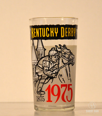 Kentucky Derby Glass 1975, Churchill Downs, Collectible