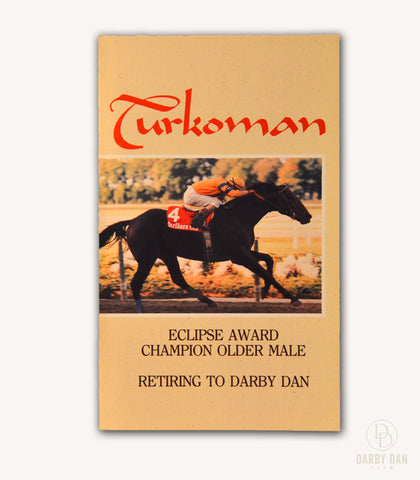 Turkoman Stallion Brochure, Darby Dan Farm