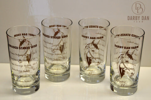 Winter Memories Ltd. Edition Derby Glasses