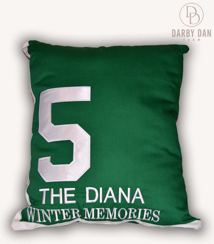 Winter Memories Saddle Cloth Pillow