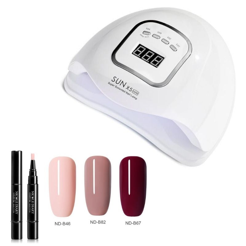 Gel Nail Bundle, Nail colors