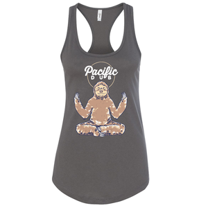 Women's Grey Sloth Tank