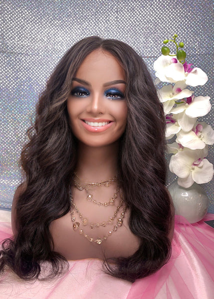 1B BW Frontal Wig