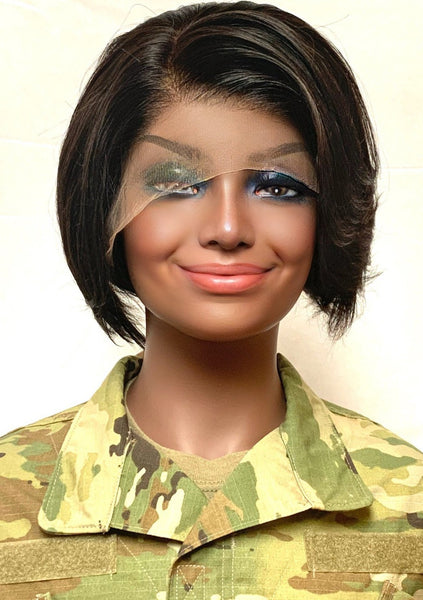 """GI Jane"" Glueless 8"" Wig"