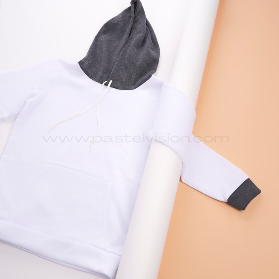 Pastel Vision Two Toned Hoodies