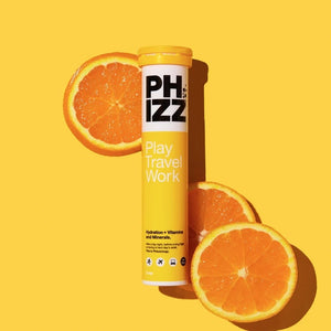 Phizz Multivitamin Hydration Tablets Orange 20