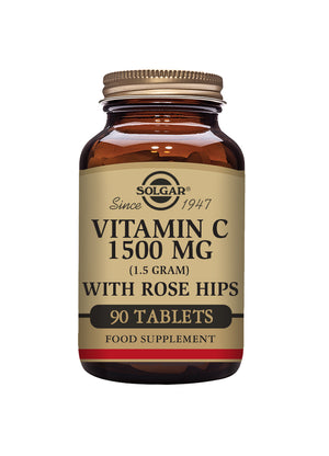 Solgar Vitamin C 1500 mg with Rose Hips
