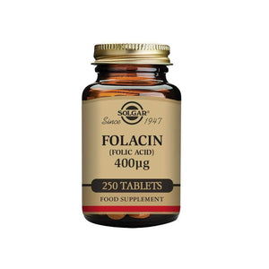 Solgar® Folacin (Folic Acid) 400 µg Tablets - Pack of 250