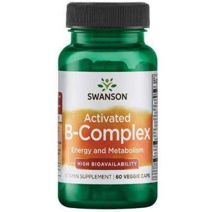 Activated B-Complex Swanson 60 vcaps