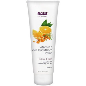 Vitamin C & Sea Buckthorn - Lotion NOW Foods 237 ml