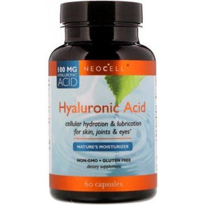 Hyaluronic Acid NeoCell Nature's Moisturizer 60 caps