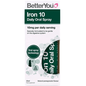 Iron 10 Daily Oral Spray (10mg) BetterYou 25 ml