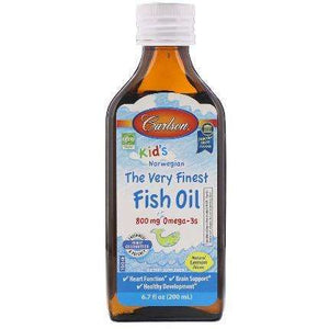 Kid's The Very Finest Fish Oil Carlson Labs - 200 ml