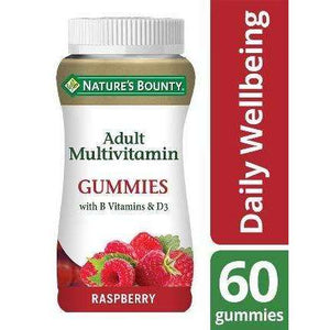 Nature's Bounty® Adult Multivitamin (60) Gummies with B vitamins and D3