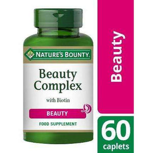 Nature's Bounty® Beauty Complex with Biotin Capsules - Pack of 60
