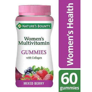 Nature's Bounty® Women's Multivitamin Gummies with Collagen - Pack of 60