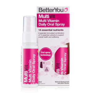 MultiVit Oral Spray BetterYou 25 ml