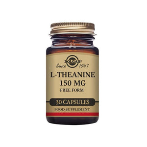 Solgar® L-Theanine 150 mg Vegetable Capsules - Pack of 30