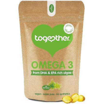 Together Natural Algae DHA Omega 3 30 Softgels