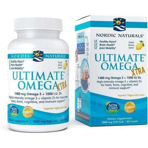 Ultimate Omega Xtra Nordic Naturals 1480mg Lemon - 60 softgels