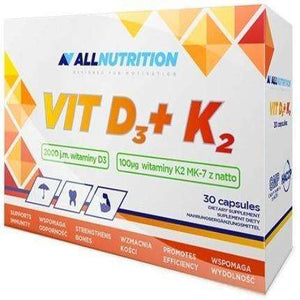 Vit D3 + K2 Allnutrition 30 caps