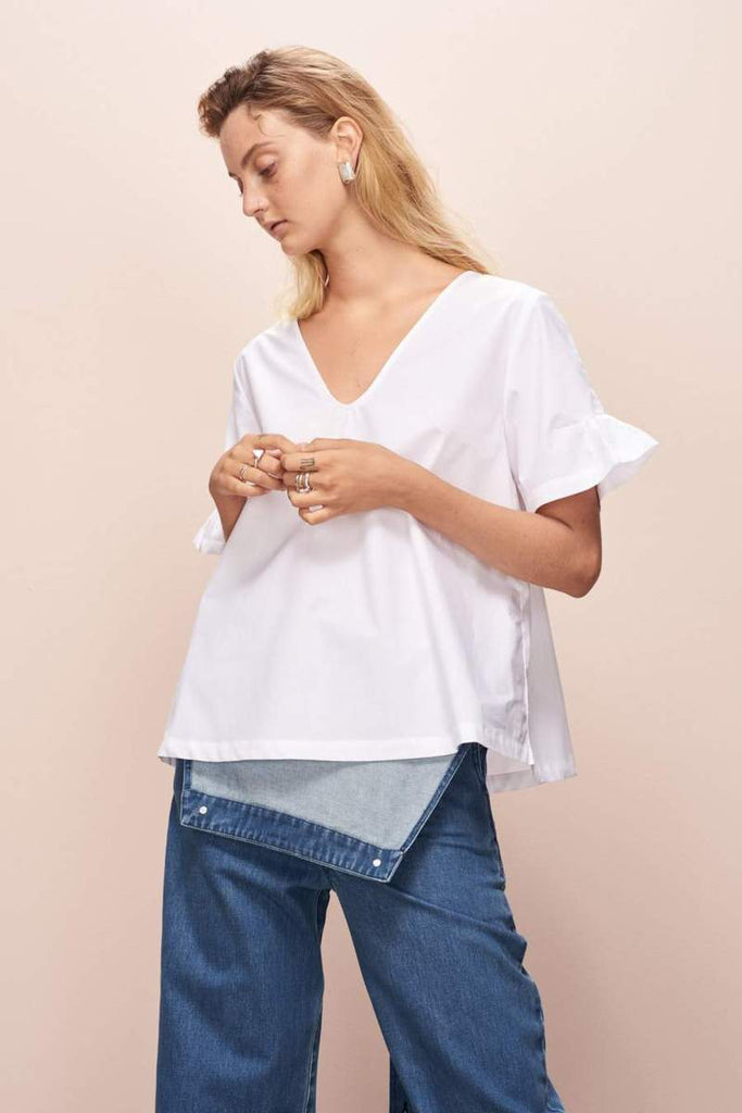 Kowtow Daze Top - White