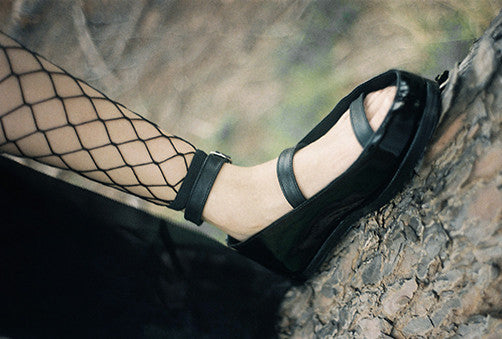 Half Measures Flatform Patent Black
