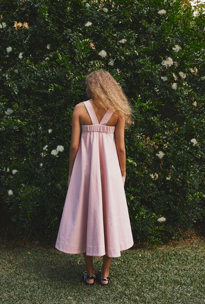 SOLD OUT Soot Billow Swing Dress Blush
