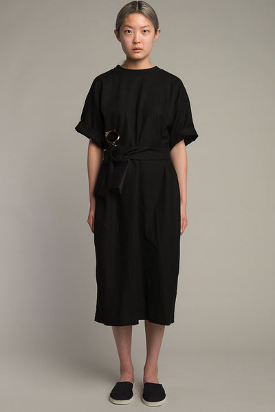 Articles of Clothing N°104 Black Linen Dress
