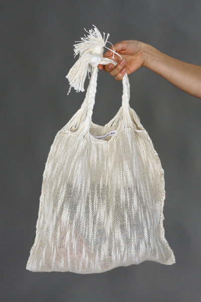 Marta Buda Hand Woven Natural Bag