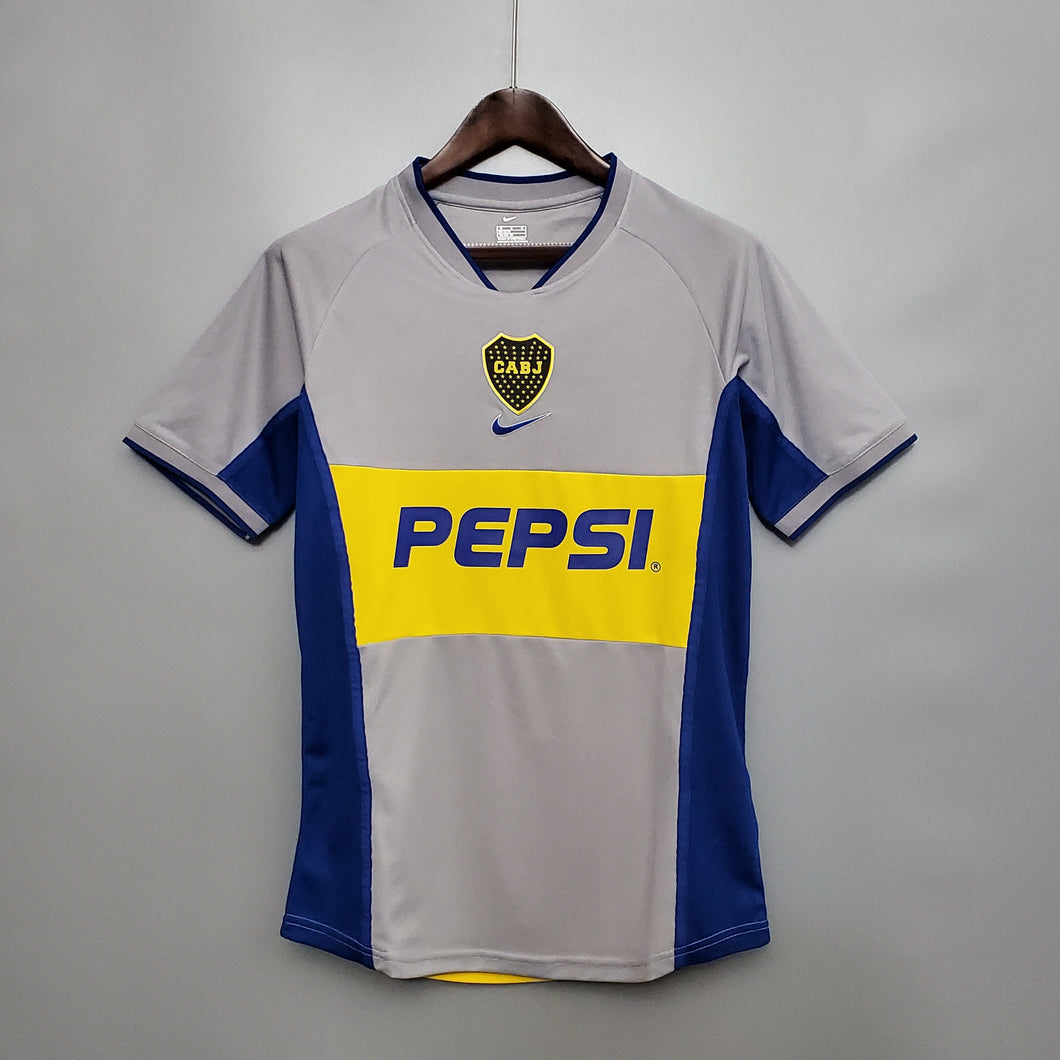 Camisa Boca Juniors II Retrô 2002
