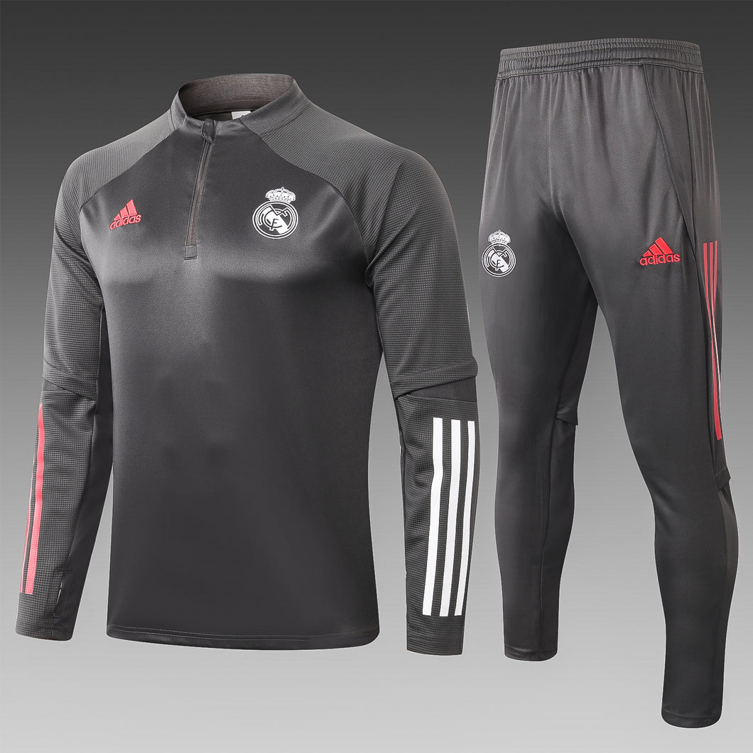 Conjunto Real Madrid Cinza 2020/21