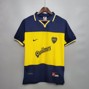 Camisa Boca Juniors I Retrô 1999