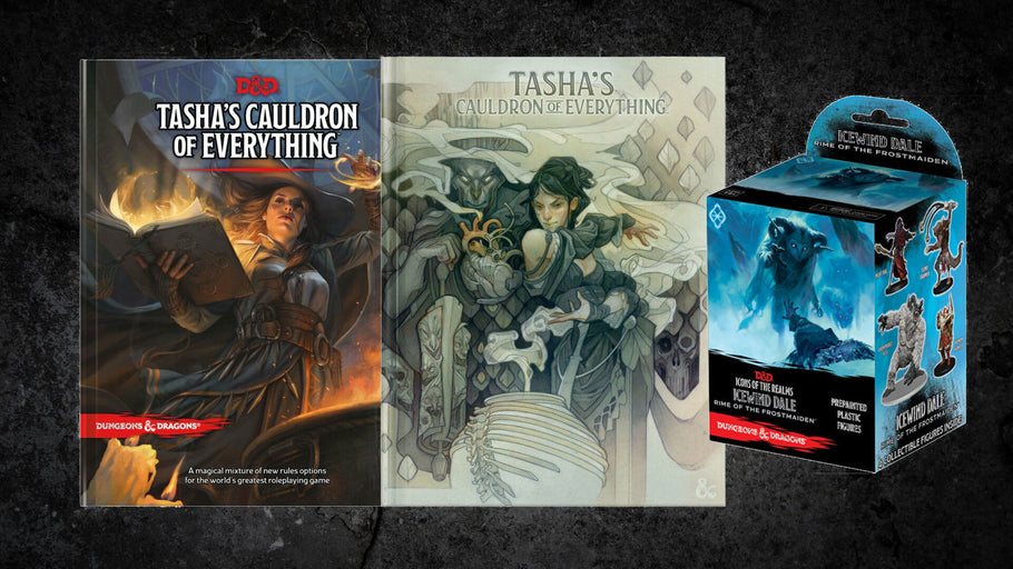 Total Party Chill's Tasha's Cauldron of Everything D&D Giveaway