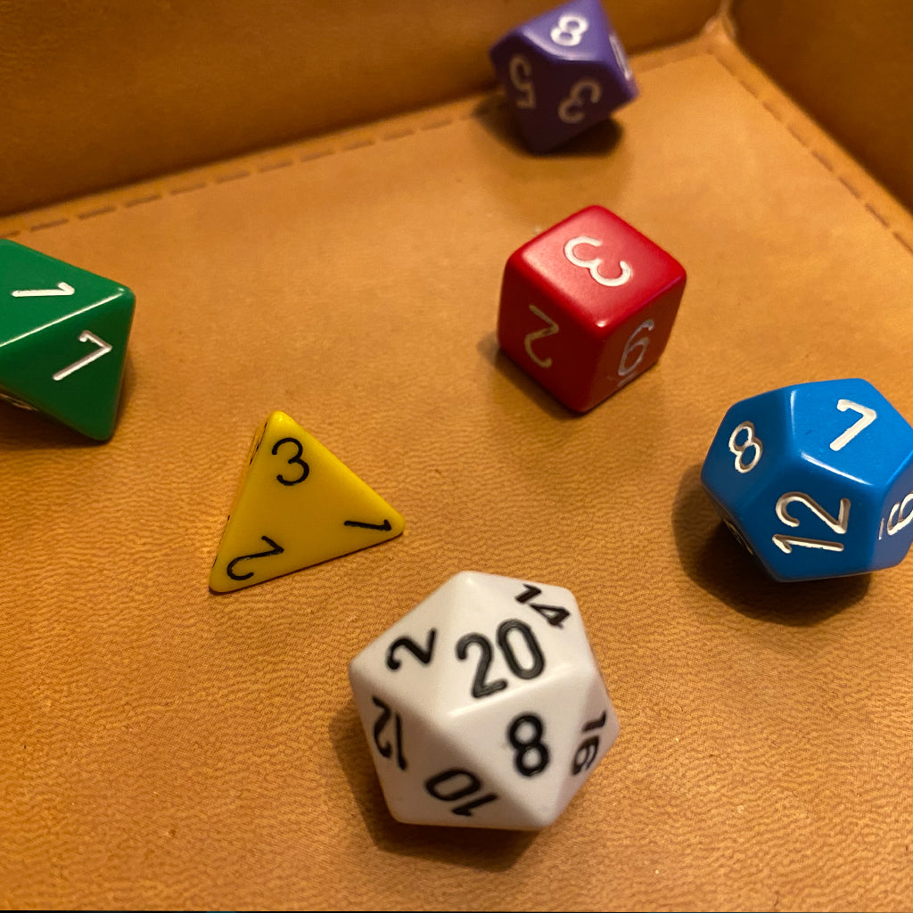 Old School D&D Dice
