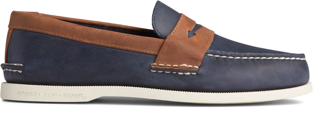Herren Authentic Original Pennyloafer Marineblau/Sonora
