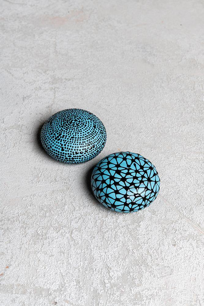 Salt and pepper shakers | Greece blue