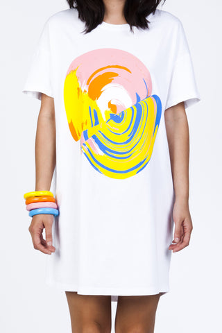 AIH x Kloke NOW + 4EVA White Tee Dress