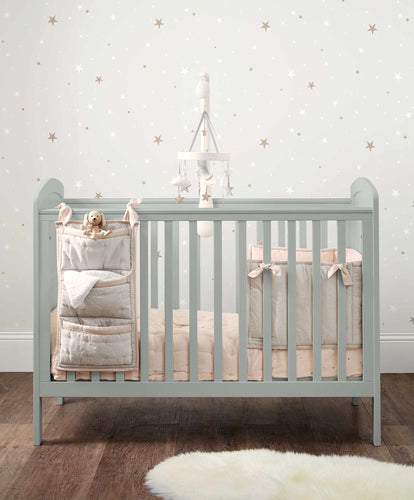Mamas & Papas Cot Beds Dover Adjustable Height Cot - Cool Grey