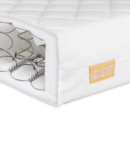 Mamas & Papas Cotbed Mattresses Essential Spring Cotbed Mattress