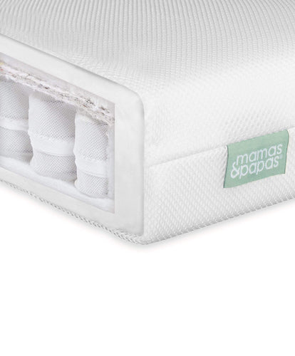 Mamas & Papas Cotbed Mattresses Premium Pocket Spring Cotbed Mattress