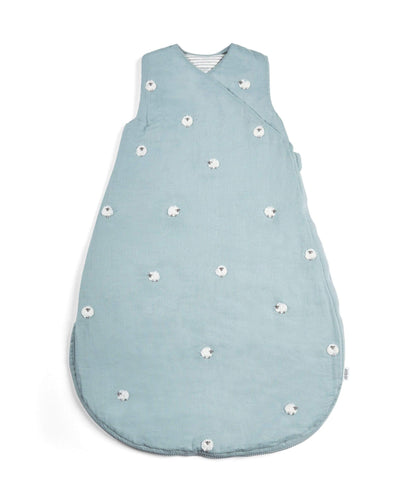 Mamas & Papas Dreampod Sleep Bags & Swaddling Welcome to the World Farm Yard Dreampod - Blue Farm Print