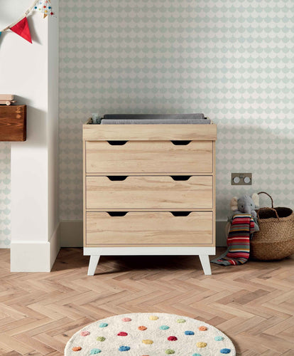 Mamas & Papas Dressers & Changers Lawson Dresser & Changer - Natural & White