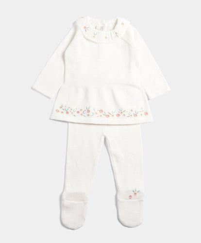 Mamas & Papas Outfits & Sets Knitted 2 Piece Set