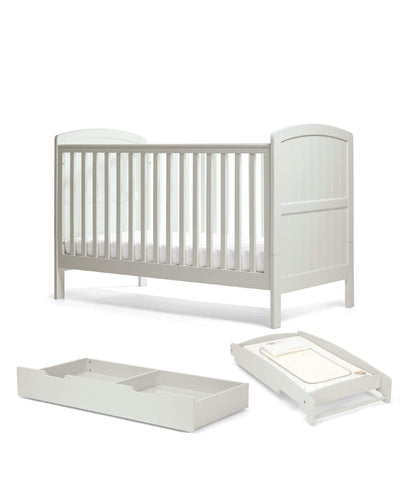 Mamas & Papas Package Cot Bed Dover Cotbed Package - Cool Grey